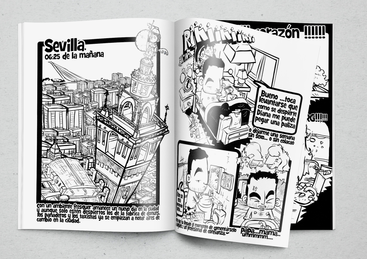 COMICS y diseño editorial